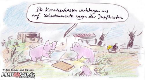 Cartoon: Klage (medium) by preissaude tagged klage