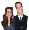 Cartoon: Kate e William (small) by Airton Nascimento tagged royal,wedding,kate,william,marriage,palace,windsor,mountbatten,middleton,westminster,abbey