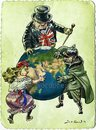 Cartoon: WW I Before (small) by Bob Row tagged france,britain,germany,worldwari