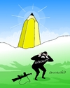Cartoon: After the atack of Charlie Hebdo (small) by Cartoonarcadio tagged charlie,hebdo,terror,violencia,francia,cartoons