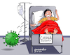 Cartoon: China affected by Coronavirus. (small) by Cartoonarcadio tagged coronavirus,health,china,people