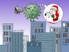 Cartoon: Christmas is close. (small) by Cartoonarcadio tagged crhistmas,virus,covid,19,health