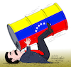 Cartoon: Maduro and his style of governme (small) by Cartoonarcadio tagged maduro,brazil,latin,america,corruption