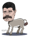 Cartoon: Nicolas Maduro Venezuela (small) by Cartoonarcadio tagged maduro,dictatorship,venezuela,politician