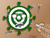 Cartoon: No more failed attempts. (small) by Cartoonarcadio tagged vaccine,covid,19,health,coronavirus,people