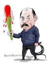 Cartoon: Ortega nicaraguan president (small) by Cartoonarcadio tagged ortega,nicaragua,dictator,politician,latin,america,central