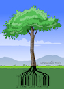 Cartoon: Take Care Nature (small) by Cartoonarcadio tagged nature,trees,pollution,environment,global,warming