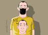 Cartoon: That is me. (small) by Cartoonarcadio tagged covid 19 coronavirus pandemic health masks