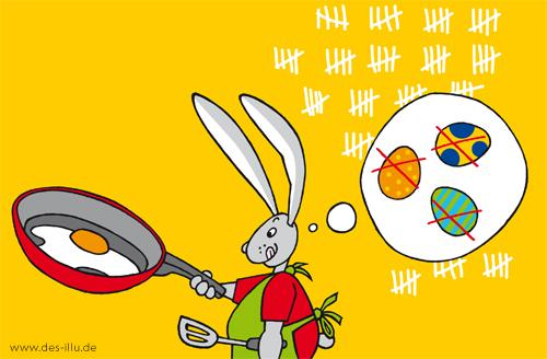 Cartoon: --- (medium) by toonwolf tagged easter,rabbit,ostern,hase