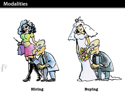 Cartoon: Modalities (medium) by PETRE tagged marriage,money,bride
