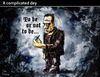 Cartoon: A complicated day (small) by PETRE tagged frankenstein,shakespeare,hamlet,mother,day