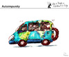Cartoon: Autoimpunity (small) by PETRE tagged polution,ecology,earth,air