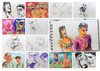 Cartoon: December sketches (small) by PETRE tagged people,sketches,colour,drawings