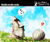 Cartoon: Doubt on the Rocks (small) by PETRE tagged easterisland moai rolling music