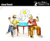 Cartoon: Great Travel (small) by PETRE tagged friendship friends chat