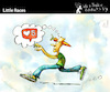 Cartoon: Little Races (small) by PETRE tagged internet socialnetwork likes hearts race