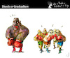 Cartoon: Shock or Gradualism (small) by PETRE tagged argentina fmi crisis