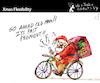 Cartoon: Xmas Flexibility (small) by PETRE tagged christmas,noel,santa,santaclaus,flexibility