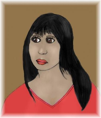 Cartoon: Mara Kayser (medium) by Hezz tagged mara,kayser