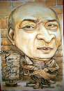 Cartoon: Narasimha_Rao (small) by fritzpelenkahu tagged deltiga
