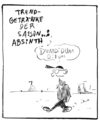 Cartoon: Absinth (small) by Matthias Stehr tagged alkohol,absinth,drogen