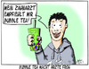 Cartoon: Bubble Tea (small) by Matthias Stehr tagged bubble,tea,zahnarzt,trendgetränk