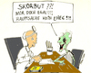 Cartoon: Hauptsache kein EHEC (small) by Matthias Stehr tagged ehec,infection,bacteria,health