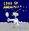 Cartoon: I feel so alienated (small) by Matthias Stehr tagged alien