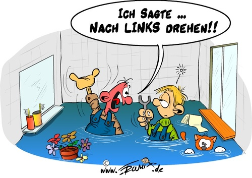 Ausbildungsnotstand von trumix politik cartoon toonpool - Badezimmer comic ...