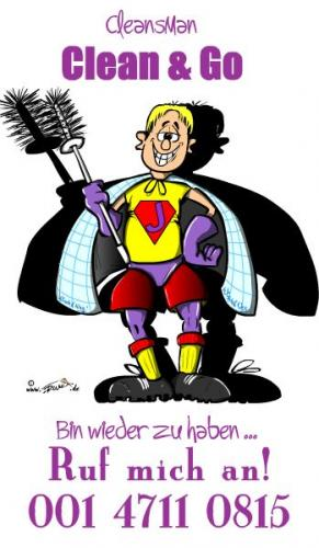 Cartoon: CleansMan (medium) by Trumix tagged klinsmann,sommermärchen,fussball,cleansman