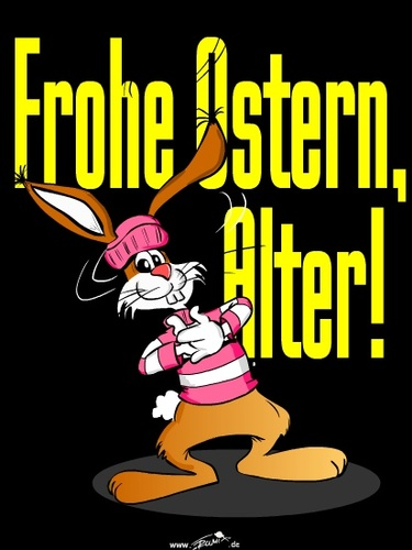 Cartoon: Frohe Ostern (medium) by Trumix tagged frohe,ostern,happy,osterhase,trummix
