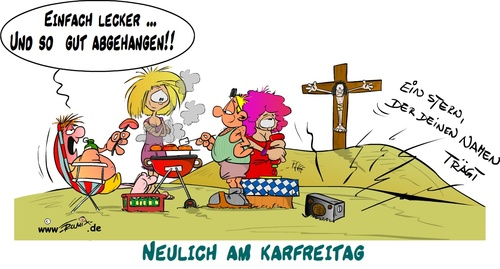 karfreitag von Trumix | Religion Cartoon | TOONPOOL