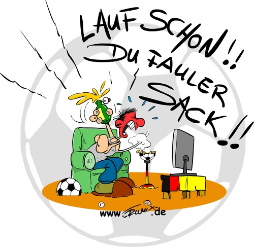 Start 50 bundesliga von trumix sport cartoon toonpool for Sport bundesliga