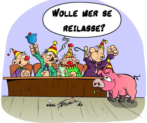 Wolle Mer Se Reilasse Von Trumix Politik Cartoon Toonpool