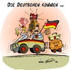 Cartoon: Die WM kommt (small) by Trumix tagged afrika,fussball,stimmung,sued,wm,trummix,soccer