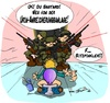 Cartoon: TaskForce (small) by Trumix tagged iran,jemen,special,taskforce,terror,trummix,urananreicherung,usa,überwachung