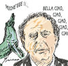 Cartoon: BELLA CIAO (small) by Grieco tagged grieco,rai,santoro,rocco,satira