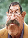 Cartoon: Günter Grass (small) by penava tagged grass karikatur caricature guenter nobelpreis nobel prize literature author