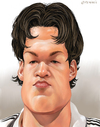Cartoon: Michael Ballack (small) by penava tagged michael,ballack,karikatur,caricature,fussballer,spieler,nationalmannschaft,chelsea,soccer,football