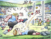 Cartoon: Rugby cartoon (small) by Nick Lyons tagged rugby,sport