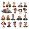 Cartoon: Famous People (small) by Amir Taqi tagged famous people