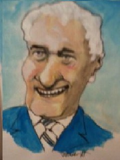 Cartoon: Bertie Ahearne (medium) by jjjerk tagged bertie,ahearne,irish,ireland,cartoon,tie,politician,caricature