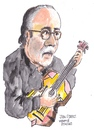 Cartoon: Juan O Perez (small) by jjjerk tagged juan,perez,spain,spanish,ireland,irish,cartoon,guitar,glasses,beard,black,caricature,famous