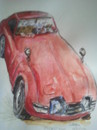 Cartoon: Live and Let Die (small) by jjjerk tagged bond james live and let die car cartoon caricature wheels red film movie