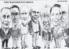Cartoon: Magnificent Seven (small) by jjjerk tagged bell art group darndale cartoon caricature glasses irish ireland artists painters