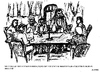 Cartoon: Meeting on United Irishmen 1798 (small) by jjjerk tagged rebellion,1798,united,irishmen,ireland,irish,cartoon,caricature,table