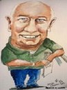 Cartoon: Mick (small) by jjjerk tagged michael,ireland,dublin,cartoon,caricature,green