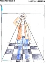 Cartoon: Perspective 3 (small) by jjjerk tagged perspective,cartoon,caricature,ireland,irish,brown,squares,lines