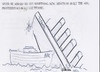 Cartoon: Something new (small) by jjjerk tagged titanic,arc,built,funnel,four,amateur,professional