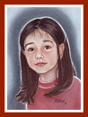 Cartoon: Claudia (small) by Kidor tagged child,kidor